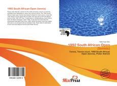 Capa do livro de 1992 South African Open (tennis)