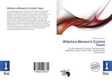 Capa do livro de Wiltshire Women's Cricket Team
