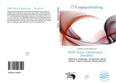 Bookcover of 2009 Keio Challenger – Doubles