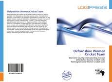 Bookcover of Oxfordshire Women Cricket Team