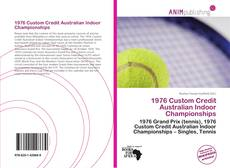 1976 Custom Credit Australian Indoor Championships kitap kapağı