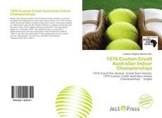 1979 Custom Credit Australian Indoor Championships kitap kapağı