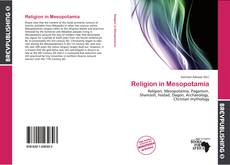 Buchcover von Religion in Mesopotamia