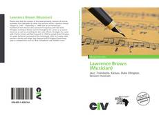 Обложка Lawrence Brown (Musician)