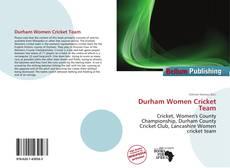 Bookcover of Durham Women Cricket Team