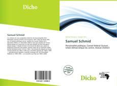 Buchcover von Samuel Schmid