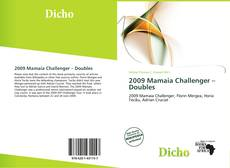 Bookcover of 2009 Mamaia Challenger – Doubles
