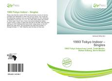 Обложка 1993 Tokyo Indoor – Singles