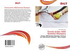 Tennis at the 1900 Summer Olympics kitap kapağı