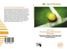 Buchcover von Tennis at the 1924 Summer Olympics