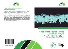 1993 International Tennis Championships kitap kapağı
