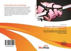 Bookcover of Shayne Stevenson (Ice Hockey)