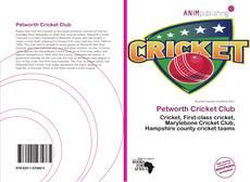 Buchcover von Petworth Cricket Club