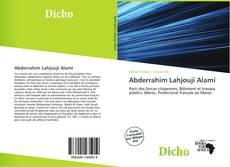 Bookcover of Abderrahim Lahjouji Alami