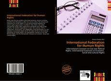 Bookcover of International Federation for Human Rights