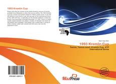 Bookcover of 1993 Kremlin Cup