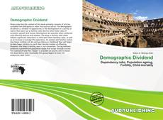 Bookcover of Demographic Dividend