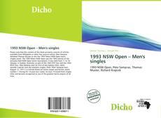 Bookcover of 1993 NSW Open – Men's singles