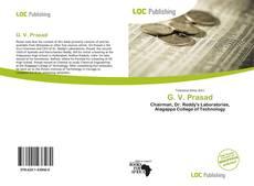 Bookcover of G. V. Prasad
