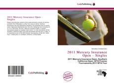 Bookcover of 2011 Mercury Insurance Open – Singles