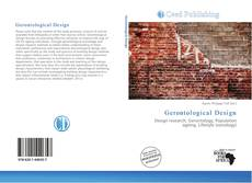 Gerontological Design kitap kapağı