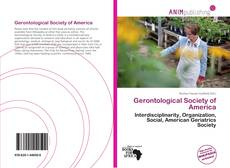 Bookcover of Gerontological Society of America