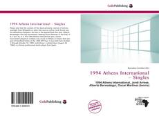 1994 Athens International – Singles kitap kapağı