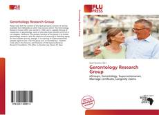 Bookcover of Gerontology Research Group