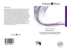 Bookcover of Rim-Sin I