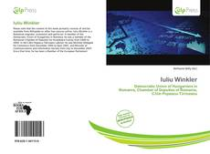 Bookcover of Iuliu Winkler