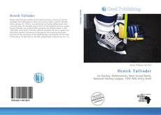 Buchcover von Henrik Tallinder