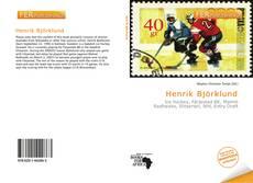 Buchcover von Henrik Björklund