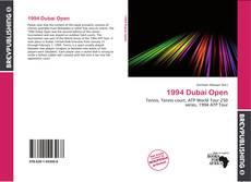 Bookcover of 1994 Dubai Open