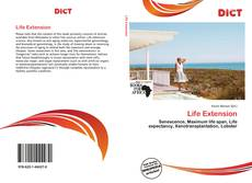 Bookcover of Life Extension