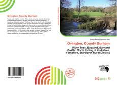 Buchcover von Ovington, County Durham