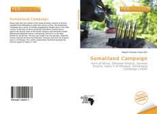 Buchcover von Somaliland Campaign