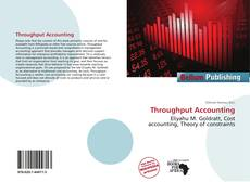 Throughput Accounting kitap kapağı