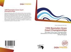 Copertina di 1994 Rosmalen Grass Court Championships