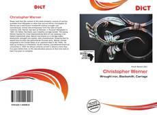 Capa do livro de Christopher Werner