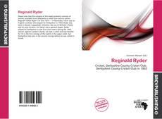 Couverture de Reginald Ryder