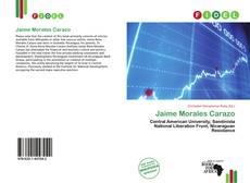 Buchcover von Jaime Morales Carazo
