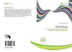 Capa do livro de Zahid Sadiq