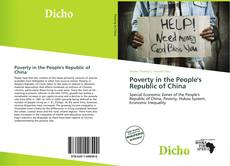 Bookcover of Poverty in the People's Republic of China