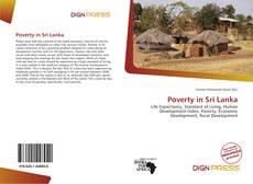 Bookcover of Poverty in Sri Lanka