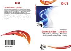 Bookcover of 2009 Rai Open – Doubles