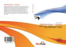 Bookcover of 2009 Rai Open – Singles