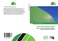 Bookcover of 1972 Stockholm Open