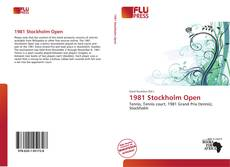 Bookcover of 1981 Stockholm Open