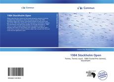 Bookcover of 1984 Stockholm Open