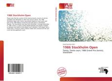 Bookcover of 1986 Stockholm Open